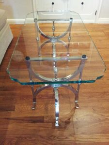 Glass Furniture with Custom Shapes